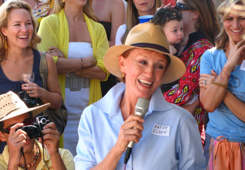 Kathy Eldon Speaking