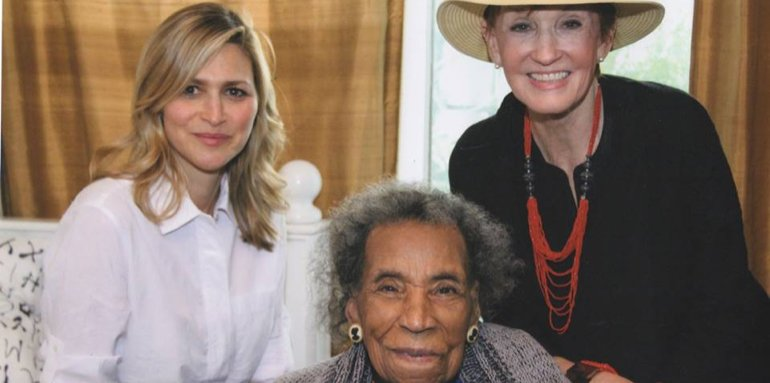 Kathy, Amy and Amelia Boynton Robinson