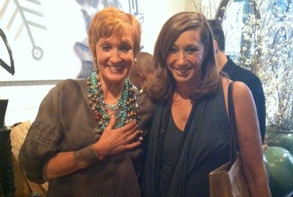 Kathy + Donna Karan