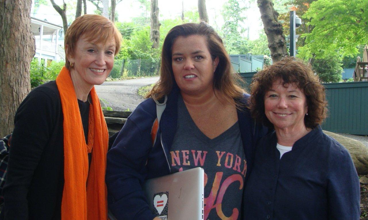 Kathy, Rosie, Coby