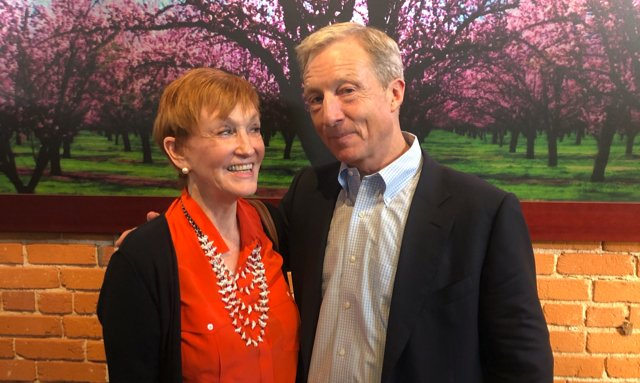 Kathy and Tom Steyer