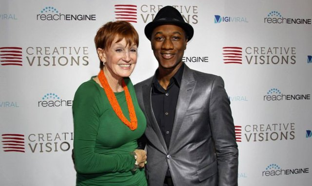 Kathy and Aloe Blacc