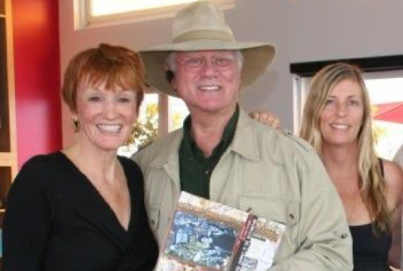 Kathy and Larry Hagman