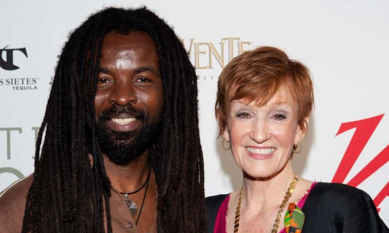 Rocky Dawuni and Kathy