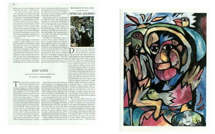 """THE NEW YORKER: """"AFRICAN JOURNEY"""""""