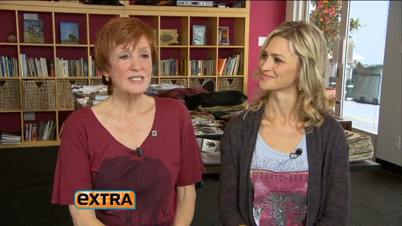 Kathy and Amy in Extra